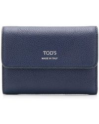 Tod's - Foldover Top Wallet - Lyst