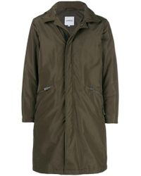 Aspesi - Zip Pocket Hooded Coat - Lyst