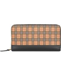 Burberry House Check Continental Wallet