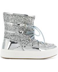 Chiara Ferragni - Glitter Snow Boots - Lyst