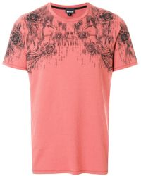 Just Cavalli | Front Printed T-shirt | Lyst
