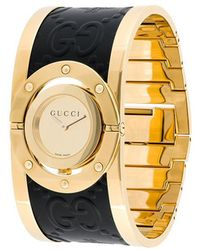 718a2c438b4 Gucci Ya112425 Large Stainless Steel Twirl Watch in Metallic - Lyst