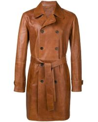 DESA NINETEENSEVENTYTWO - Belted Double-breasted Coat - Lyst