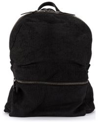 Giorgio Brato - Front Zip Backpack - Lyst