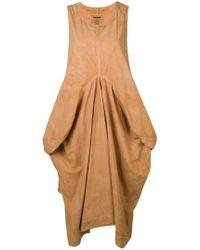 Uma Wang - Oversized Draped Dress - Lyst