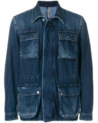 Jacob Cohen - Patch Pocket Denim Jacket - Lyst