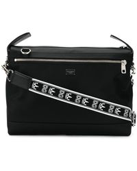 6b9c1b6a2a50 Dolce   Gabbana - Branded Strap Messenger Bag - Lyst