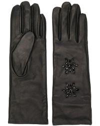 Twin Set - Crystal-embellished Gloves - Lyst