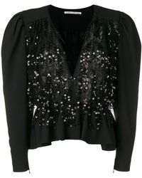 Alessandra Rich - Fringed Sequin Jacket - Lyst
