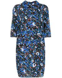 Marni - Printed Shift Dress - Lyst