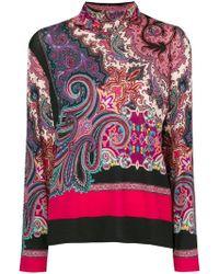 Etro - Bohemian Knit Sweater - Lyst