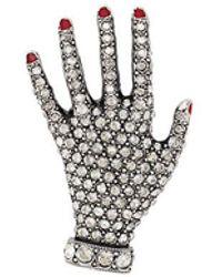 Sonia Rykiel - Embellished Hand Pin - Lyst