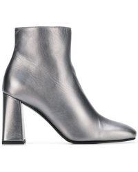 Alberto Gozzi - Block Heel Boots - Lyst