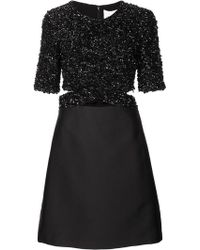 3.1 Phillip Lim - Sequin Top Satin Dress - Lyst