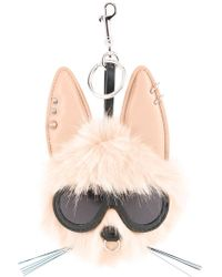 Stella McCartney - Rabbit Keyring - Lyst