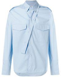 Valentino - Strap Detail Shirt - Lyst