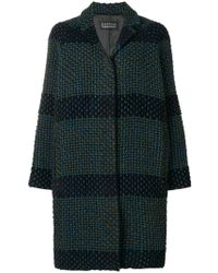 Gianluca Capannolo - Knitted Single-breasted Coat - Lyst