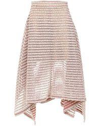 Olympiah - Tiraditos Midi Skirt - Lyst