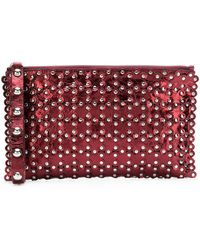 RED Valentino - Studded Clutch Bag - Lyst