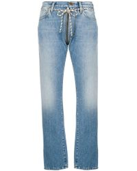 Aries - Lilly Zip Jeans - Lyst