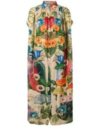 Carolina K - Scared Plants Tent Shirt Dress - Lyst