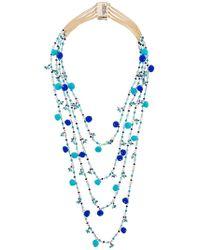 Rosantica - Alchimia Beaded Necklace - Lyst