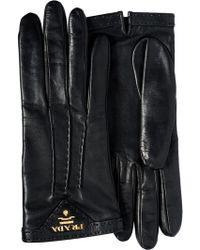 Prada - Lined Gloves - Lyst