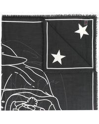 Givenchy - Rottweiler Print Scarf - Lyst