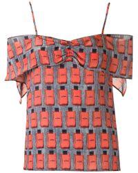 Amir Slama - Lace Up Detail Shorts - Lyst