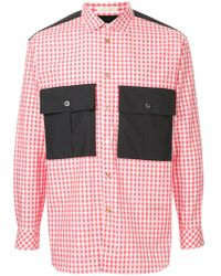 Education From Young Machines - Checked Shirt - Lyst