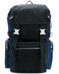 Diesel Black Gold - Panelled Backpack - Lyst