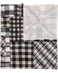 Pierre Louis Mascia - Checked Patchwork Scarf - Lyst