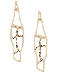 Polina Sapouna Ellis - Tethrippon Earrings - Lyst