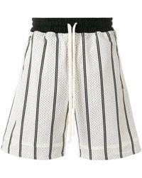 Represent - Pinstripe Baskeball Shorts - Lyst