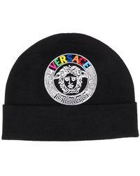 40d1067a Men's Versace Hats - Lyst