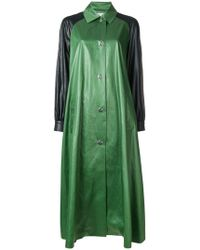Sonia Rykiel - Oversized Shirt Coat - Lyst