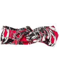 RED Valentino - Printed Headband - Lyst