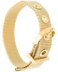 Lanvin - Buckled Chain Bracelet - Lyst