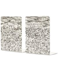 Fornasetti Gerusalemme Bookends