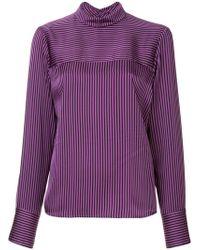 G.v.g.v - Striped Backwards Shirt - Lyst