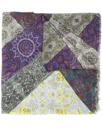 Pierre Louis Mascia - Multiple Pattern Pashmina - Lyst