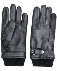 PS by Paul Smith - Ribbed Knit Detail Gloves - Lyst
