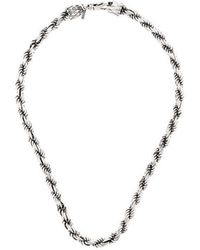 Emanuele Bicocchi - Rope Chain Necklace - Lyst