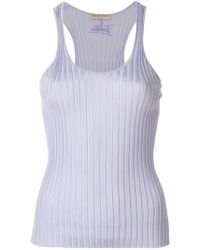 Emilio Pucci - Ribbed-knit Tank Top - Lyst