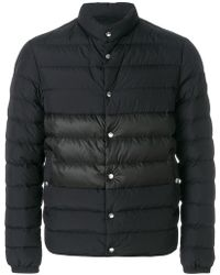 57daabc81f41 Lyst - Moncler Padded Front Jacket in Black for Men