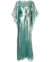 DHELA - Metallic Sheen Maxi Dress - Lyst