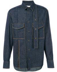 Valentino - Double Pocket Shirt - Lyst
