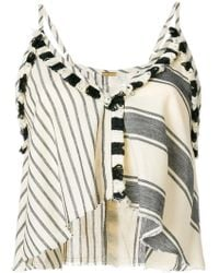 Dodo Bar Or - Cropped Patchwork Top - Lyst