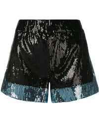 Amen - Sequin Embellished Shorts - Lyst