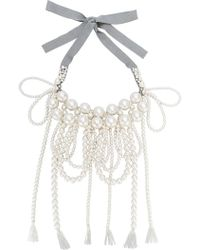 Moy Paris - Layered Tassel Necklace - Lyst